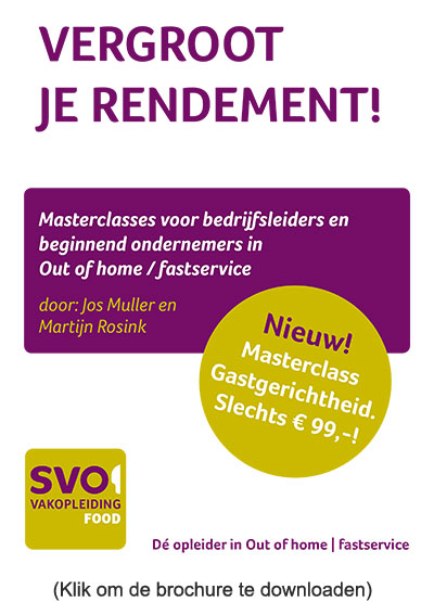 Flyer masterclasses A4